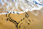heart-sand-beach-surf-waves-romantic-expression